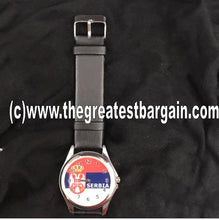 Load image into Gallery viewer, Serbia Flag Unisex Watch
