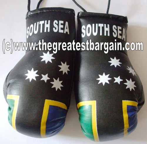 South Sea Flag Mini Boxing Gloves