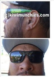 Cook Islands Mens Style, Bikie Lens Sunglasses