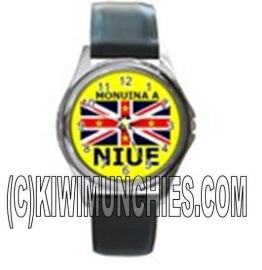 Niue Flag Unisex Watch 2