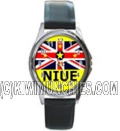 Niue Flag Unisex Watch
