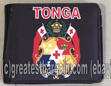 Load image into Gallery viewer, Tonga Tongan Flag Mens Wallet