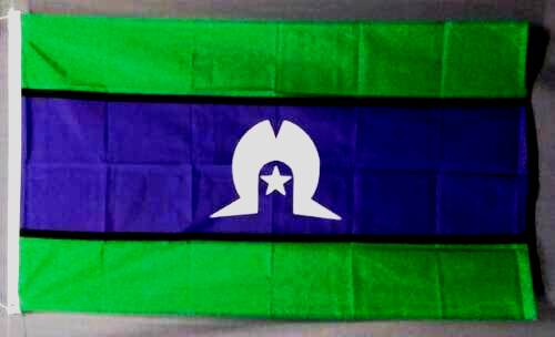 Toress Strait /Torres Strait National  Flag- Large 150 cm x 90 cm