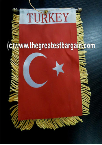 Turkey Turkish Mini Car Banner