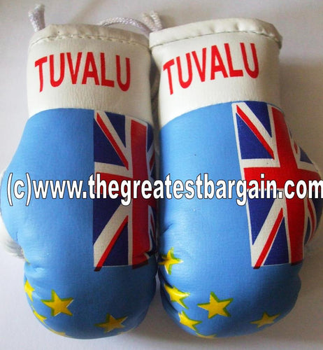 Tuvalu Flag Mini Boxing Gloves
