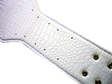 White Gator Belt
