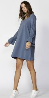 Betty Basics Ariana Dress Denim Marle