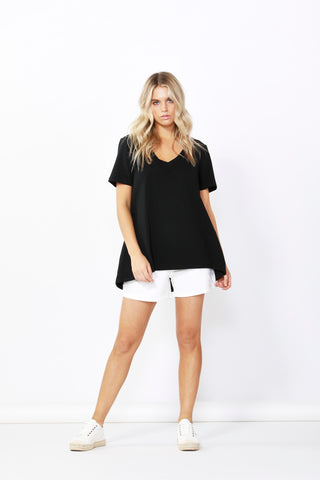 Betty Basics Hannah Tee - Black