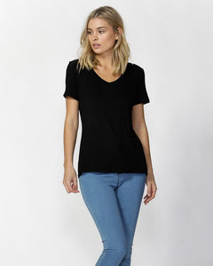 Betty Basics Manhattan V Neck Top