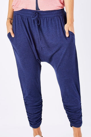 Betty Basics Brussels Pant Indigo Marle