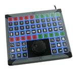 X-keys XK-68 plus Jog and Shuttle Programmable 68 Key Keypad