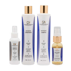 Shampoo, Conditioner, Babassu and Macadamia Oil Kit