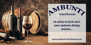 Check out our autumn wine selection