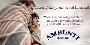 Caring for your wool blankets