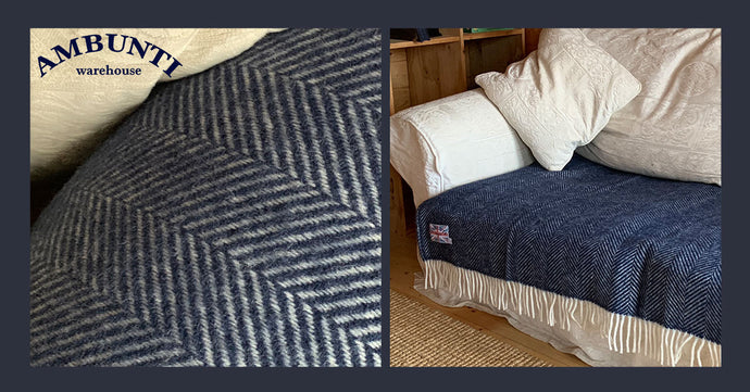 Five simple blanket hacks that will help transform an old sofa