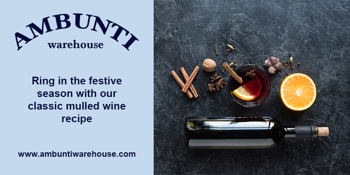 Ring in the festive season with our classic mulled wine recipe