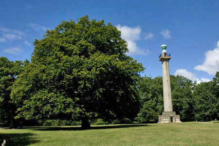 Bridgewater Monument is a great spot for a picnic