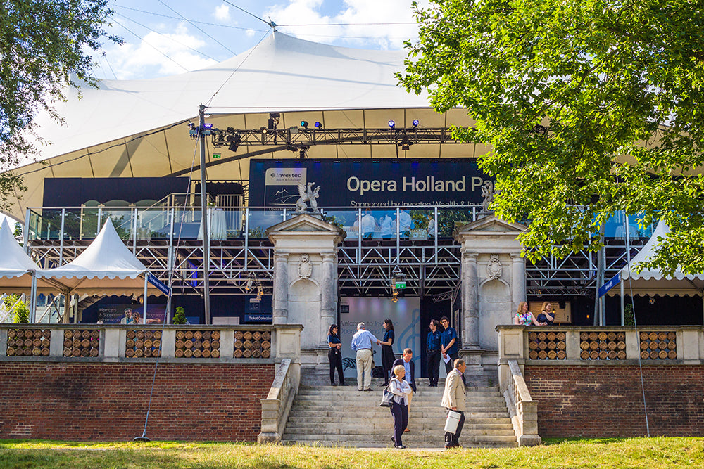 Opera Holland Park from the outside