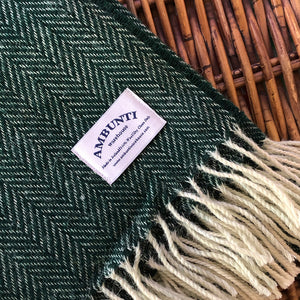 Emerald Green Throw