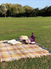 Mulberry Green Recycled Wool Picnic Blanket