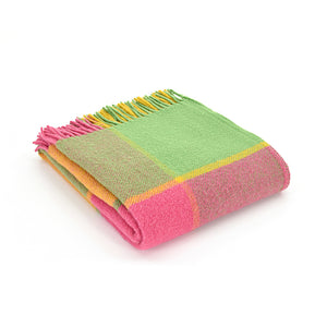 Citrus wool blanket or throw