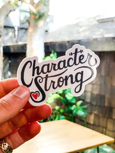CharacterStrong - Sticker
