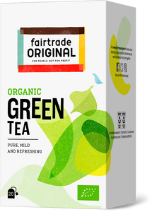 Green Tea, 20x2g, Bio, Fairtrade - Fairtrade Original