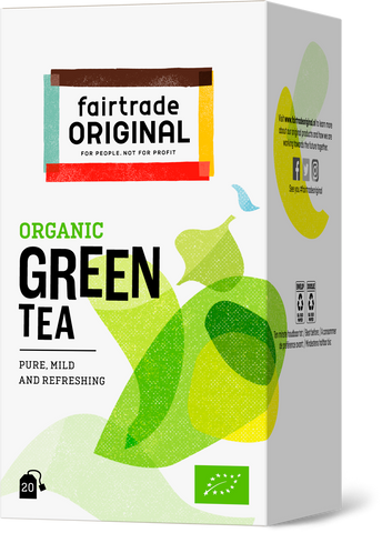 Green Tea, 20x2g, Bio, Fairtrade