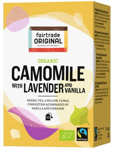 Kamillen-Lavendel-Vanille Tee, Bio, Fairtrade, 20x1,75g - Fairtrade Original