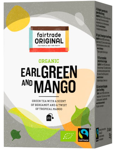 Earl Green Mango Tee, Bio, Fairtrade, 20x1,75g
