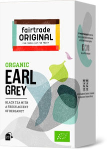 Black Tea Earl Grey, 20x1,5g, Bio, Fairtrade