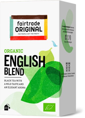 Black Tea English Blend, 20x1,75g, Bio, Fairtrade - Fairtrade Original