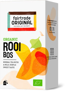 Rooibos Tea, 20x1,75g, Bio, Fairtrade
