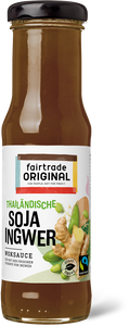 Soja Ingwer Sauce, 150 ml, Fairtrade