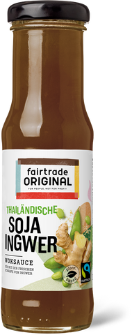 Soja Ingwer Sauce, 150 ml, Fairtrade - Fairtrade Original