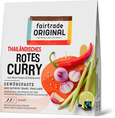 Rote Currypaste (6er Vorteilspaket) - Fairtrade Original