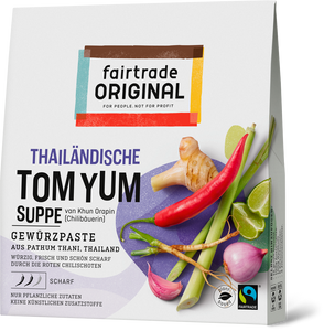 Tom Yum Gewürzpaste für Suppe, 70g, Fairtrade - Fairtrade Original