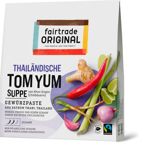 Tom Yum Paste für Suppe, 70g, Fairtrade