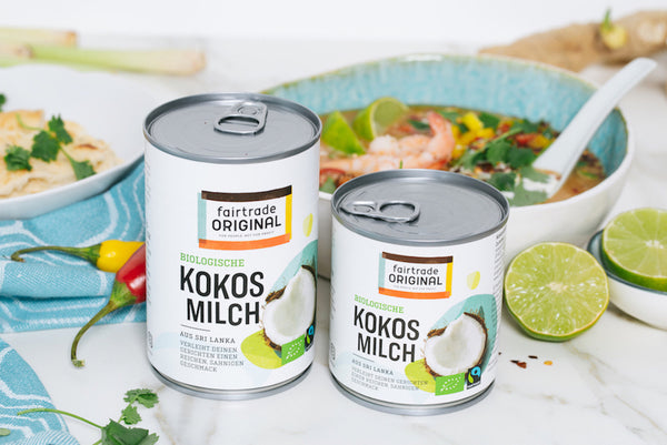 Bio-Kokosmilch - Fairtrade Original