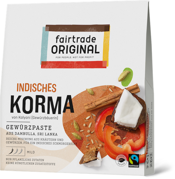 Indisches Korma - Fairtrade Original