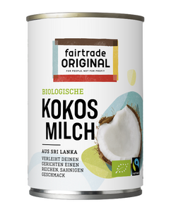 Kokosmilch (99%), 400ml, Bio, Fairtrade - Fairtrade Original