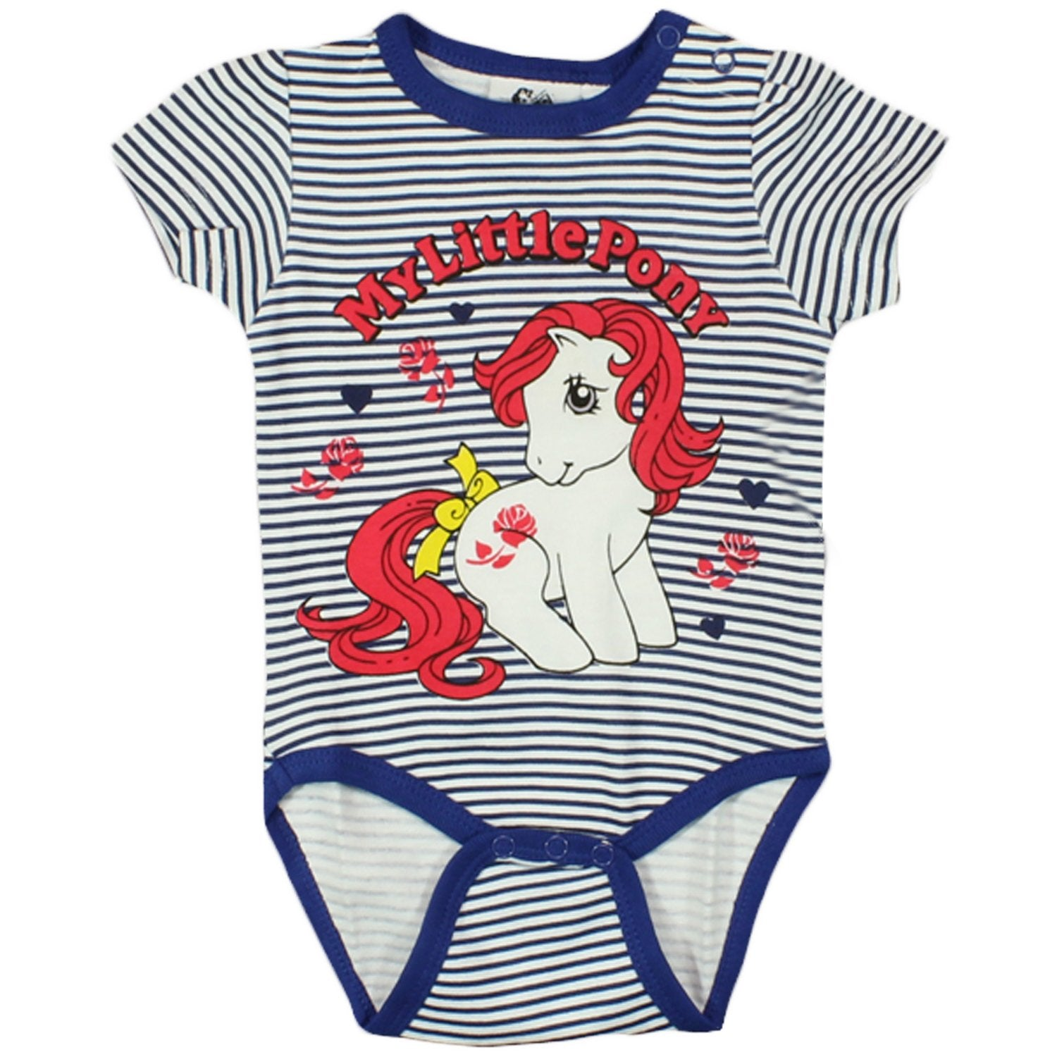 faa6f908099ab MLP Girls My Little Pony One Piece Bodysuit/Sleepsuit/Romper ...