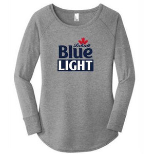 Labatt Blue Light Women's Long Sleeve Tunic Tee