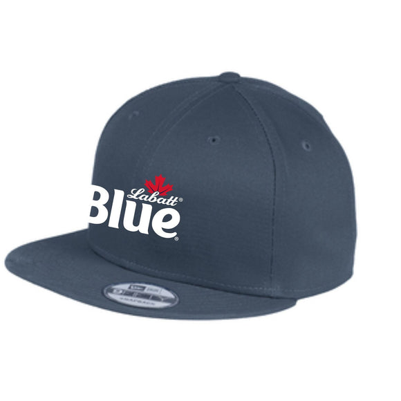 Labatt Blue New Era Navy Flat Bill Snapback Cap