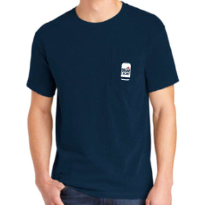 Labatt Blue Light Can Pocket Tee (2 Colors Available)