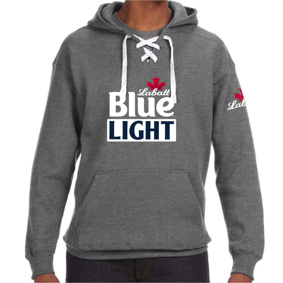 Labatt Blue Light Lace Neck Hoodie