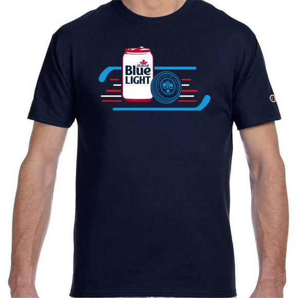 Labatt Blue Light Hockey Tee
