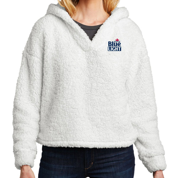 Labatt Blue Light Women's Cozy Fleece Hoodie