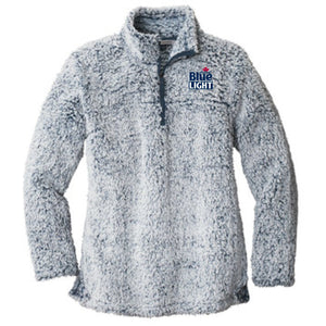 Labatt Blue Light 1/4 Zip Sherpa Fleece