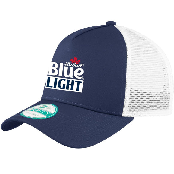 Labatt Blue Light New Era Snapback Trucker Cap
